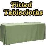 Easy Fitted Tablecloths and Fitted Table Covers
