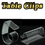 Table Skirting Clips and Tablecloth Clips