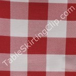 Checkered Table Topper