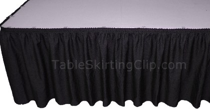 Economy Table Skirts