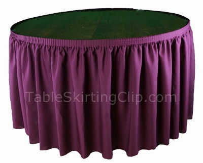 Wholesale Banquet Table Skirts