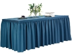 Shirred Pleat Table Skirts