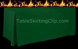 Flame Retardant Fitted Tablecloths and Table Covers