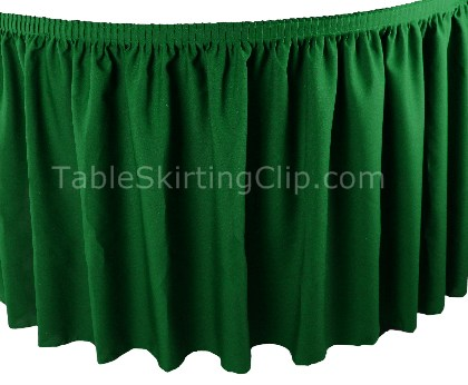Premium Inherently Flame Retardant Table Skirts