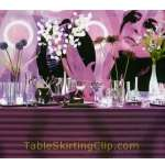 Poly Stripe Tablecloths