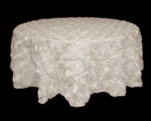 Rosette Satin Table Linen