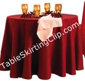 Table Skirting Clip