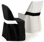 Ultimate Folding Chair Covers with Half Band (Plastic/Metal Chair)