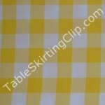 "90"" Round Checkered Tablecloths"