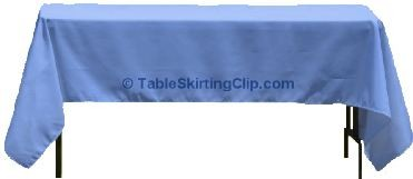 "60"" X 90"" Rectangle Spun Poly Tablecloths"