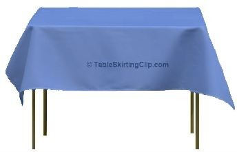 "120"" X 120"" Square Spun Poly Tablecloths"