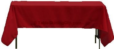 "Clearance 60"" x 102"" Rectangle Ultimate Tablecloths - Various Colors"